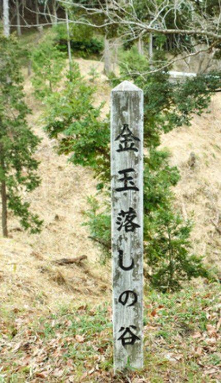 金玉落としの谷(静岡県菊川市)