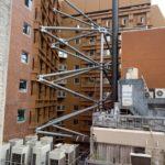 銀座グランドホテルの営業を続けながらの耐震補強